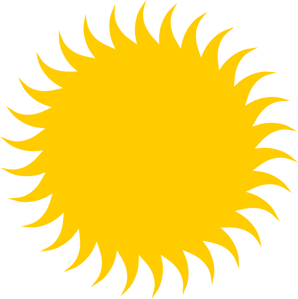 Big sun clipart graphic free download File:Sun icon.svg - Wikipedia graphic free download