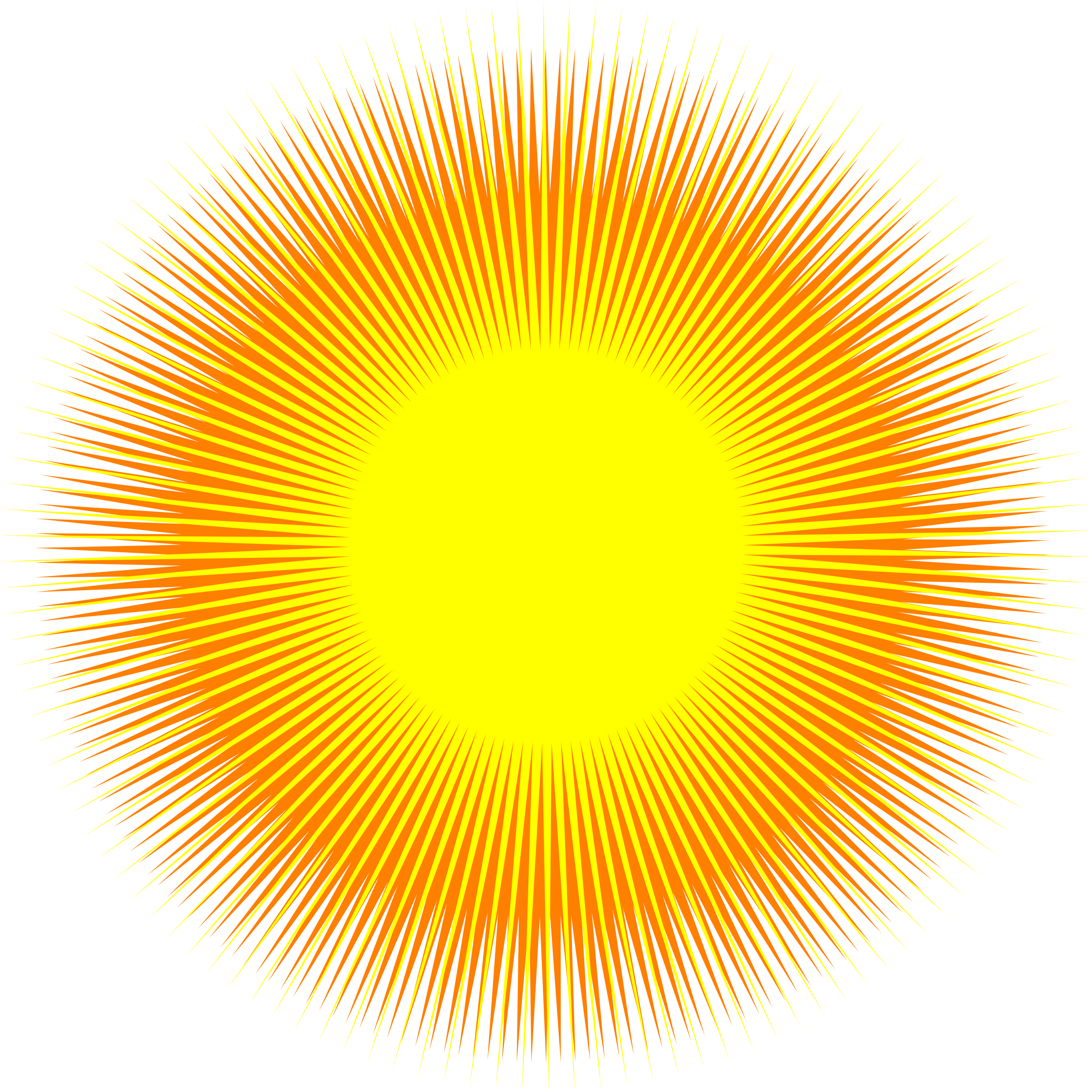 Sun rays clipart png jpg transparent stock PNG The Sun Transparent The Sun.PNG Images. | PlusPNG jpg transparent stock