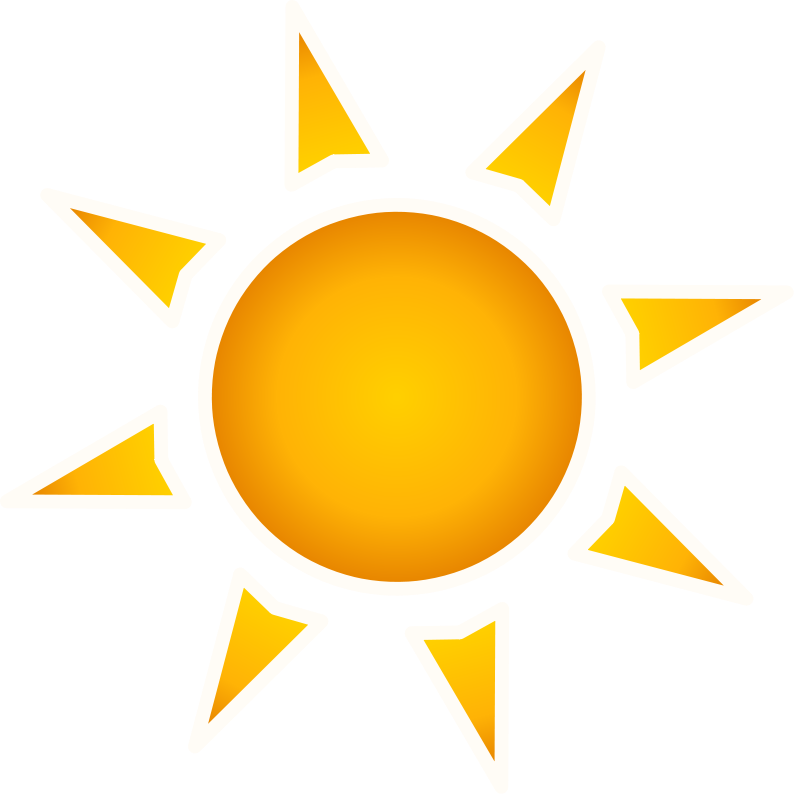 Sun rays clipart free vector royalty free stock Sun PNG Image - PurePNG | Free transparent CC0 PNG Image Library vector royalty free stock
