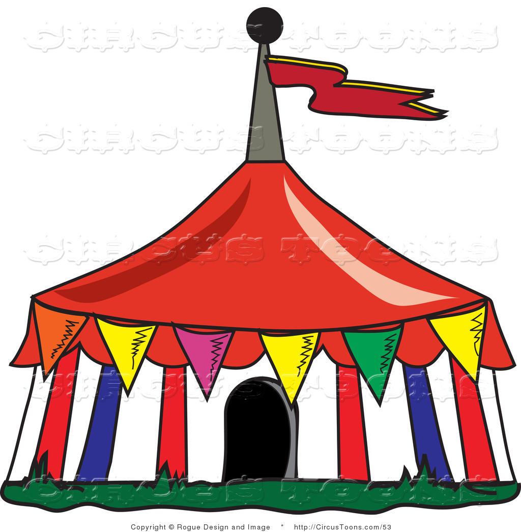 Circus background clipart free