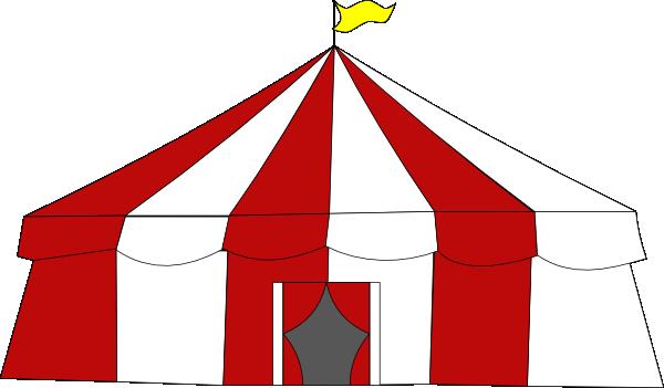 Big Top Tent Clip Art at Clker.com - vector clip art online, royalty ... image library