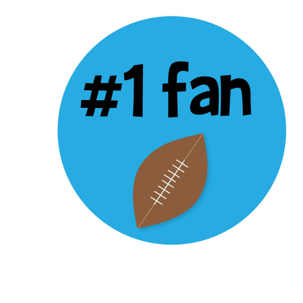 Football fan clipart. Electric at getdrawings com