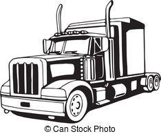 Big rig images clipart vector download Big rig clipart 2 » Clipart Portal vector download