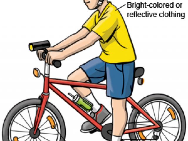 Bike at crosswalk safety clipart clipart transparent library Free Safe Clipart, Download Free Clip Art on Owips.com clipart transparent library