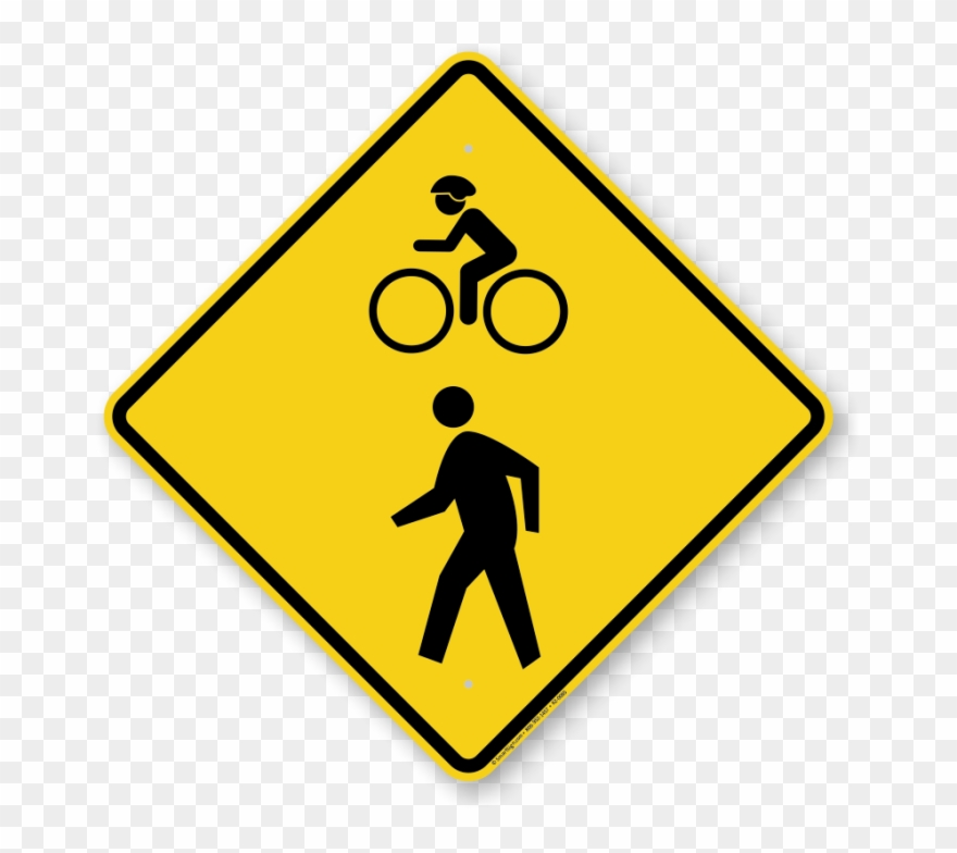 Bike at crosswalk safety clipart picture royalty free download Arroyo Seco Pedestrian And Bicycle Trail Ground Breaking - Bike And ... picture royalty free download