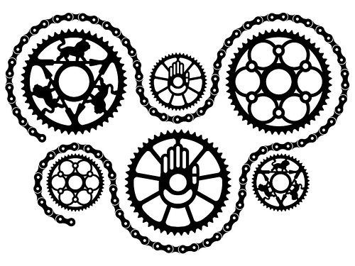 Bike chain clipart clipart library library Chainwheels and Chain by Rett, via Flickr | bicycle | Bike chain ... clipart library library