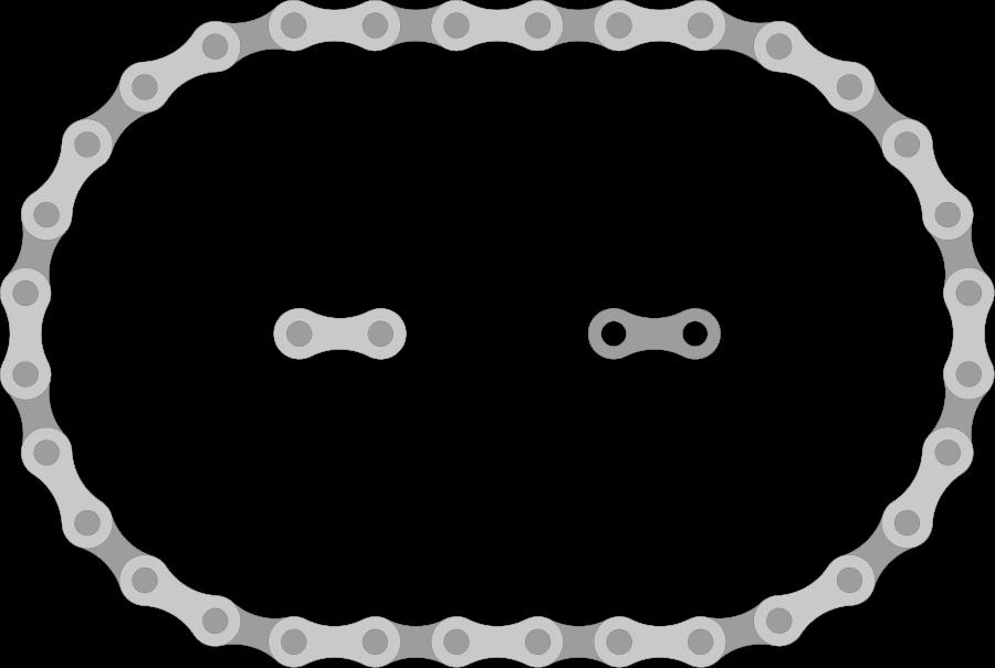 Bike chain clipart jpg free stock Bike Chain Links small clipart 300pixel size, free design ... | MTB ... jpg free stock