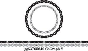 Bike chain clipart download Bike Chain Clip Art - Royalty Free - GoGraph download