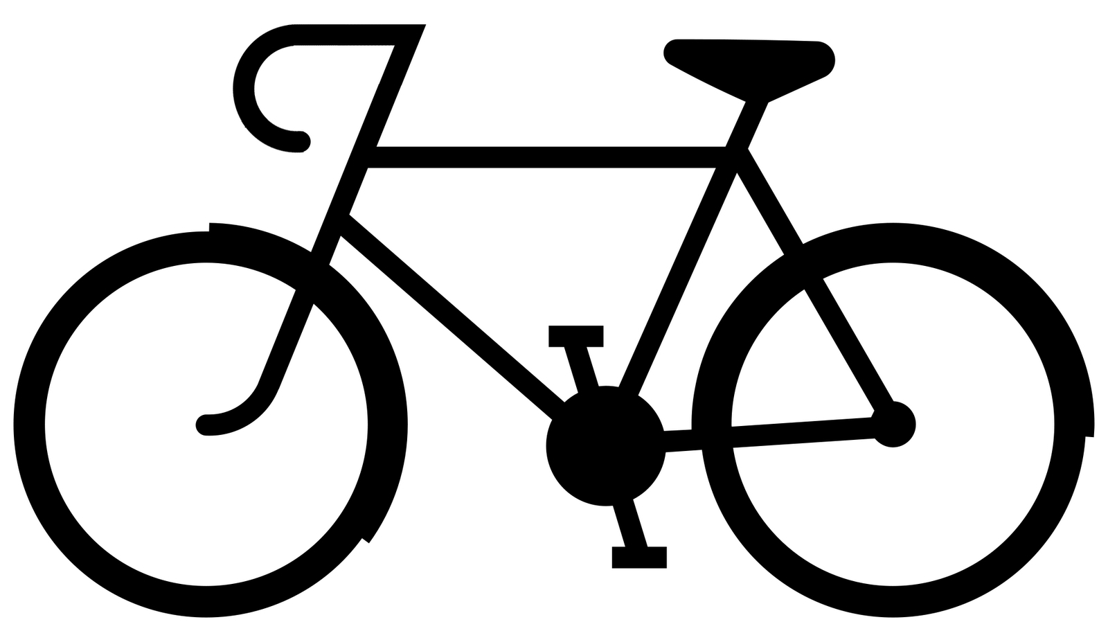 Bike clipart easy picture library Easy Bike Drawing | Free download best Easy Bike Drawing on ... picture library