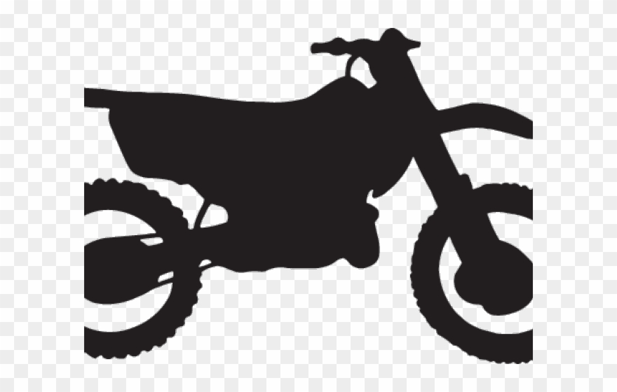 Bike clipart easy picture freeuse stock Easy Silhouette Dirt Bike Clipart (#173194) - PinClipart picture freeuse stock