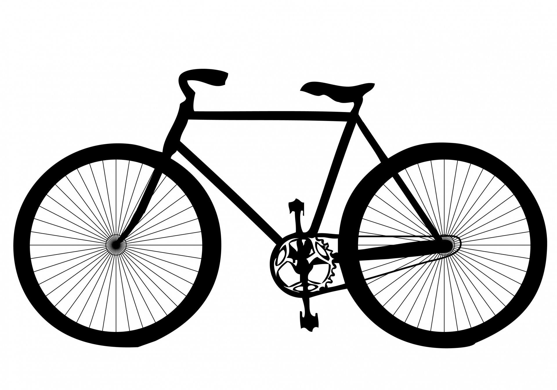Bicycle clipart vector free download banner transparent Cycling Clipart | Free download best Cycling Clipart on ClipArtMag.com banner transparent