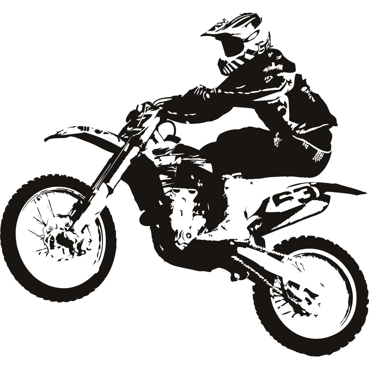 Mx clipart graphic freeuse stock Free download Motocross Bike Clipart for your creation. | Motor ... graphic freeuse stock