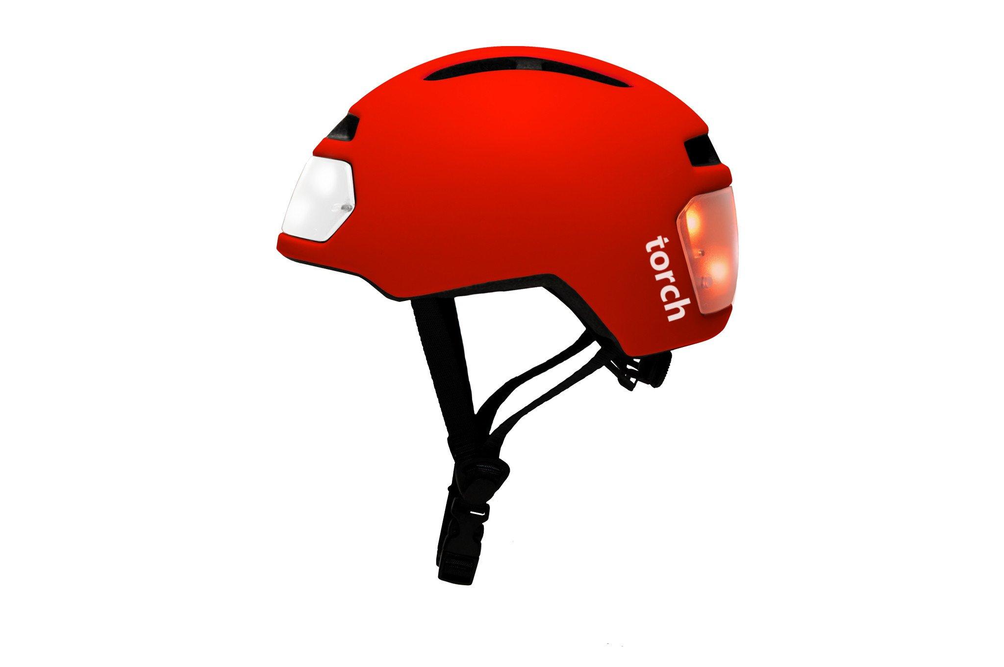 Bike lights clipart png download T2 TORCH RED BIKE HELMET png download