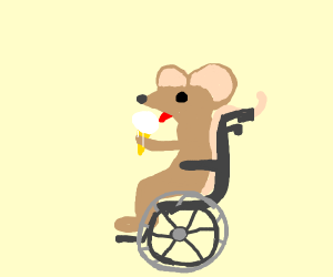 Bike riders eating icecream clipart picture transparent stock Mouse Biking - Drawception picture transparent stock