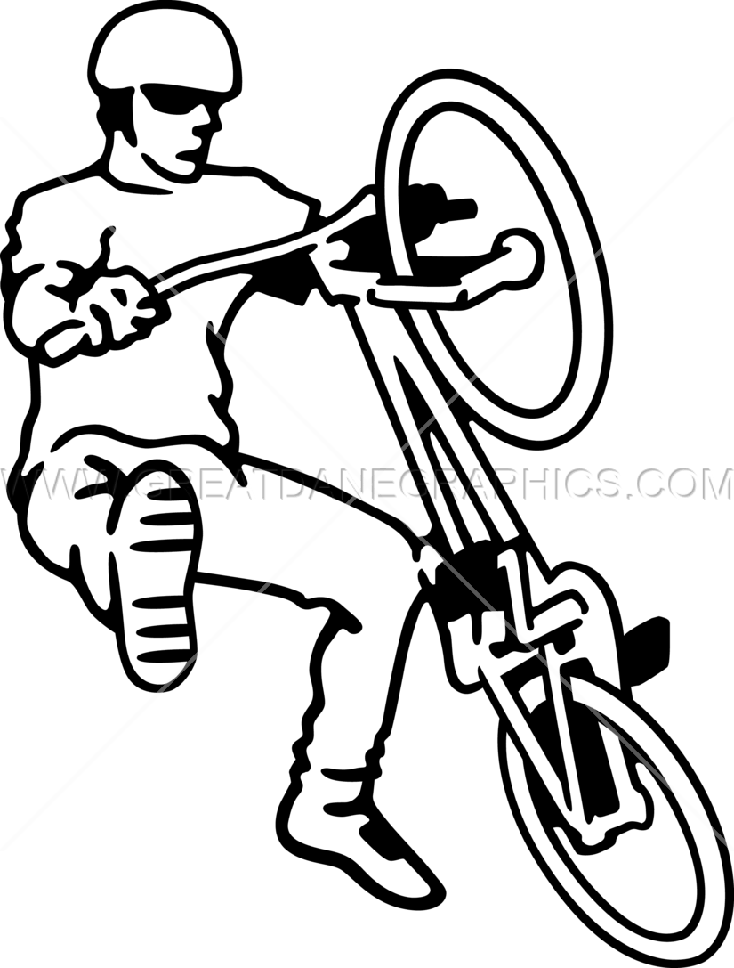 Bike trick clipart jpg freeuse Drawing, Bicycle, Illustration, transparent png image & clipart free ... jpg freeuse