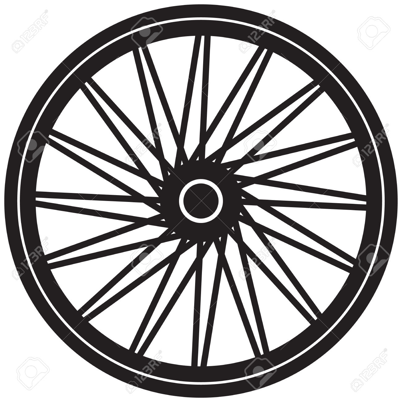 Bike wheels clipart clip art black and white library Bicycle Wheel Clipart | Free download best Bicycle Wheel Clipart on ... clip art black and white library