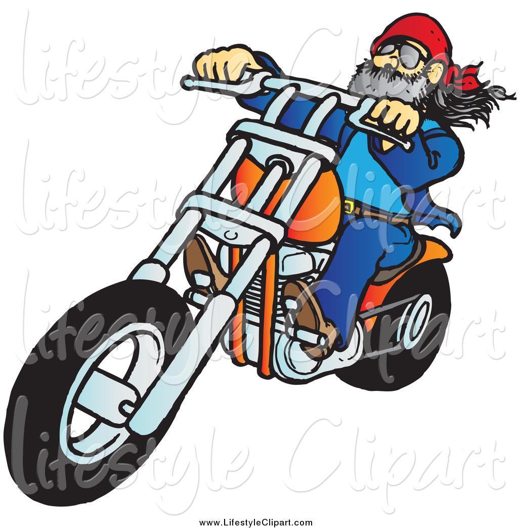 40+ Biker Clip Art   ClipartLook banner library
