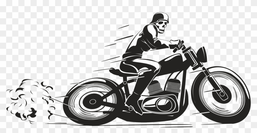 Delivery Clipart Motorcycle - Png Biker, Transparent Png - 2275x1075 ... jpg royalty free