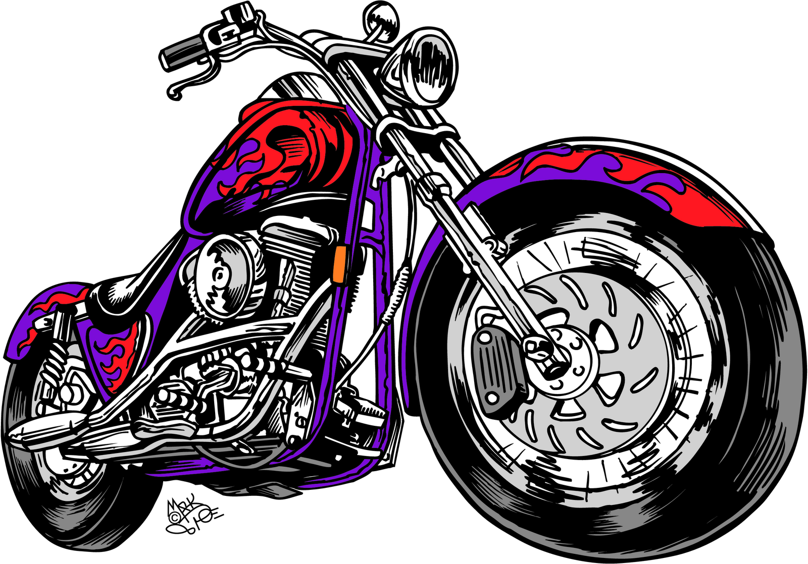 Happy birthday harley davidson mc free clipart png transparent stock Free Motorcycle Cliparts, Download Free Clip Art, Free Clip Art on ... png transparent stock