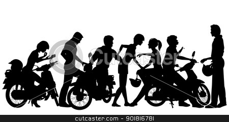 Biker gang clipart clipart royalty free stock Biker youth | Clipart Panda - Free Clipart Images clipart royalty free stock