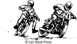 Biker gang clipart graphic black and white download Motorcycle gang Clip Art Vector and Illustration. 879 Motorcycle ... graphic black and white download