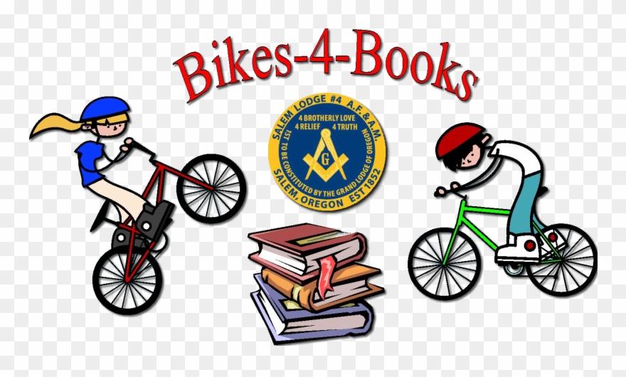 Bikes and books clipart picture Child Id - Book A Day Banner Clipart (#1478245) - PinClipart picture