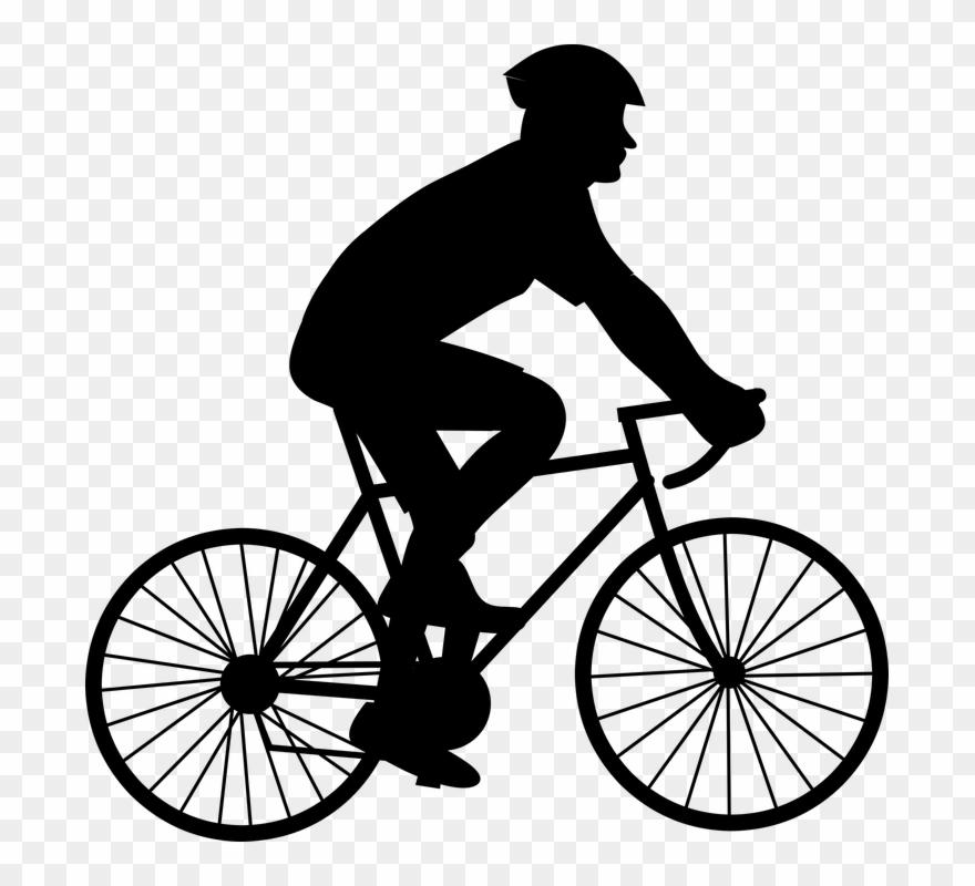 Bikibg clipart clipart transparent download Black And White Pictures Of Biking Clipart (#250852) - PinClipart clipart transparent download