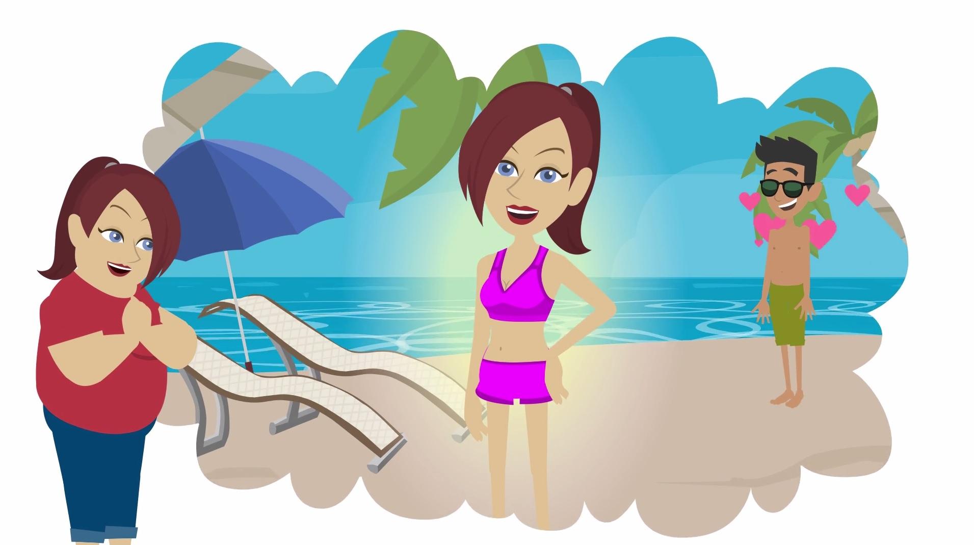 Bikinifigur clipart vector transparent Bikinifigur erreichen – so geht´s! vector transparent