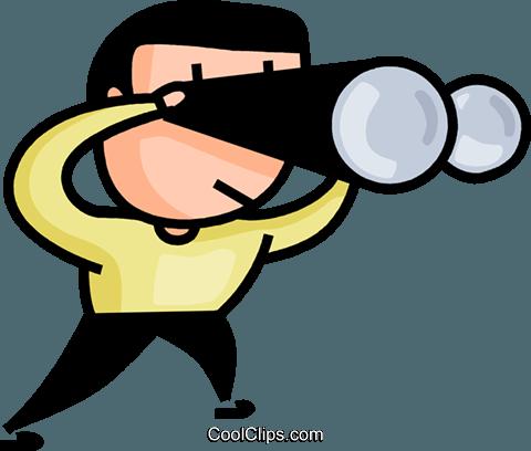 Bild mann clipart vector freeuse Clipart fernglas - ClipartFest vector freeuse