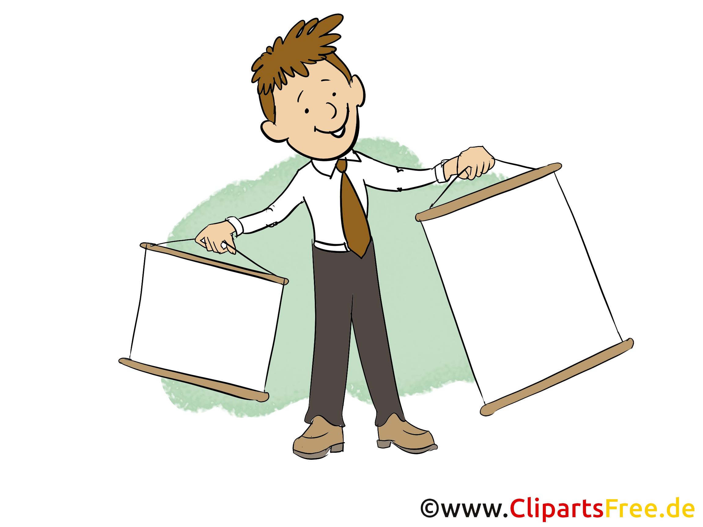 Bild mann clipart banner library download Office Clipart download Bilder, Cliparts, Cartoons, Grafiken ... banner library download