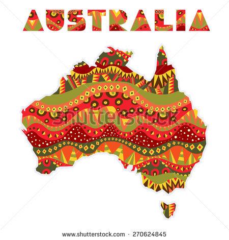Bilder aus clipart. Australia word stockbilder und