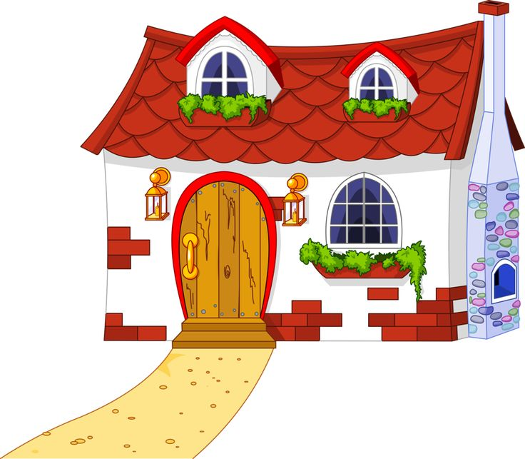 Bilder haus clipart banner free stock 1000+ images about Casas, castelos on Pinterest | Cute house ... banner free stock