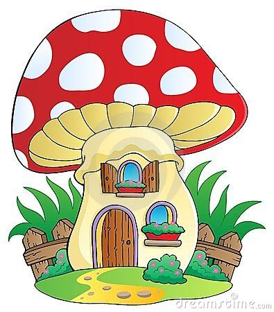 Bilder haus clipart graphic library library 17 Best images about Houses Mushrooms, Shoes, Etc. Colour on ... graphic library library