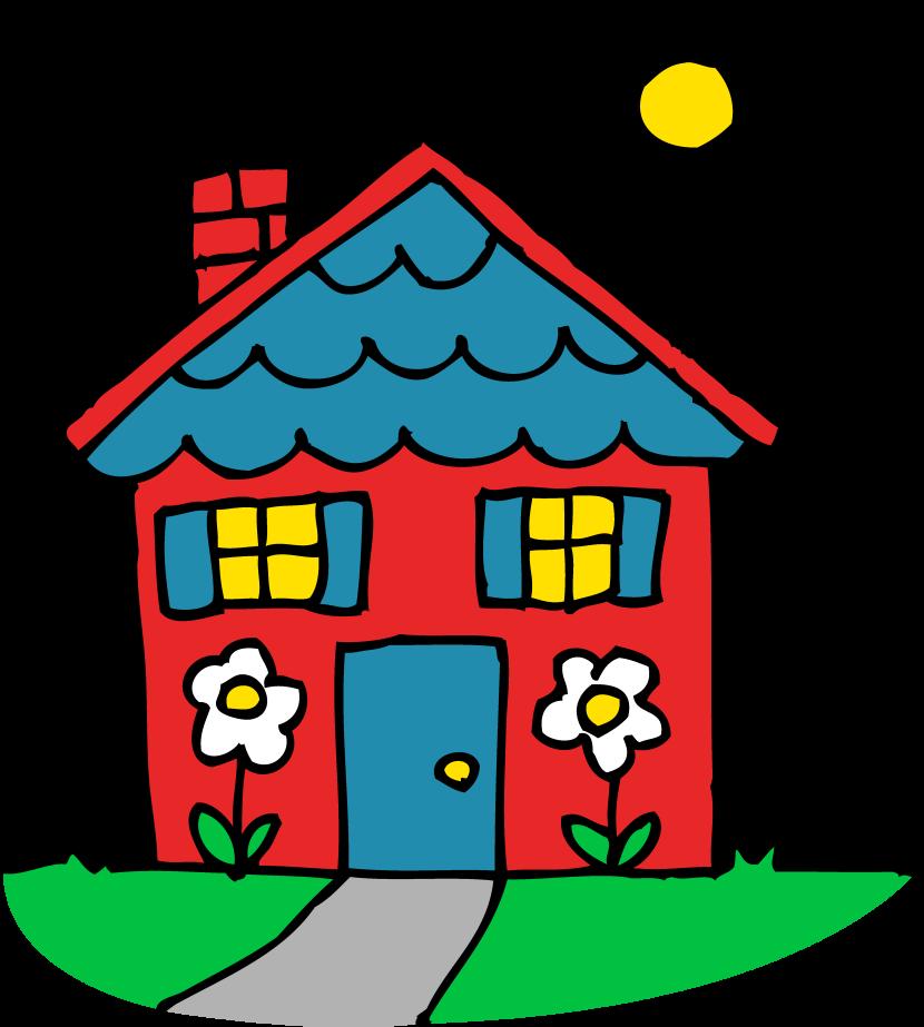 Bilder haus clipart royalty free library Kindergarten haus clipart - ClipartFest royalty free library