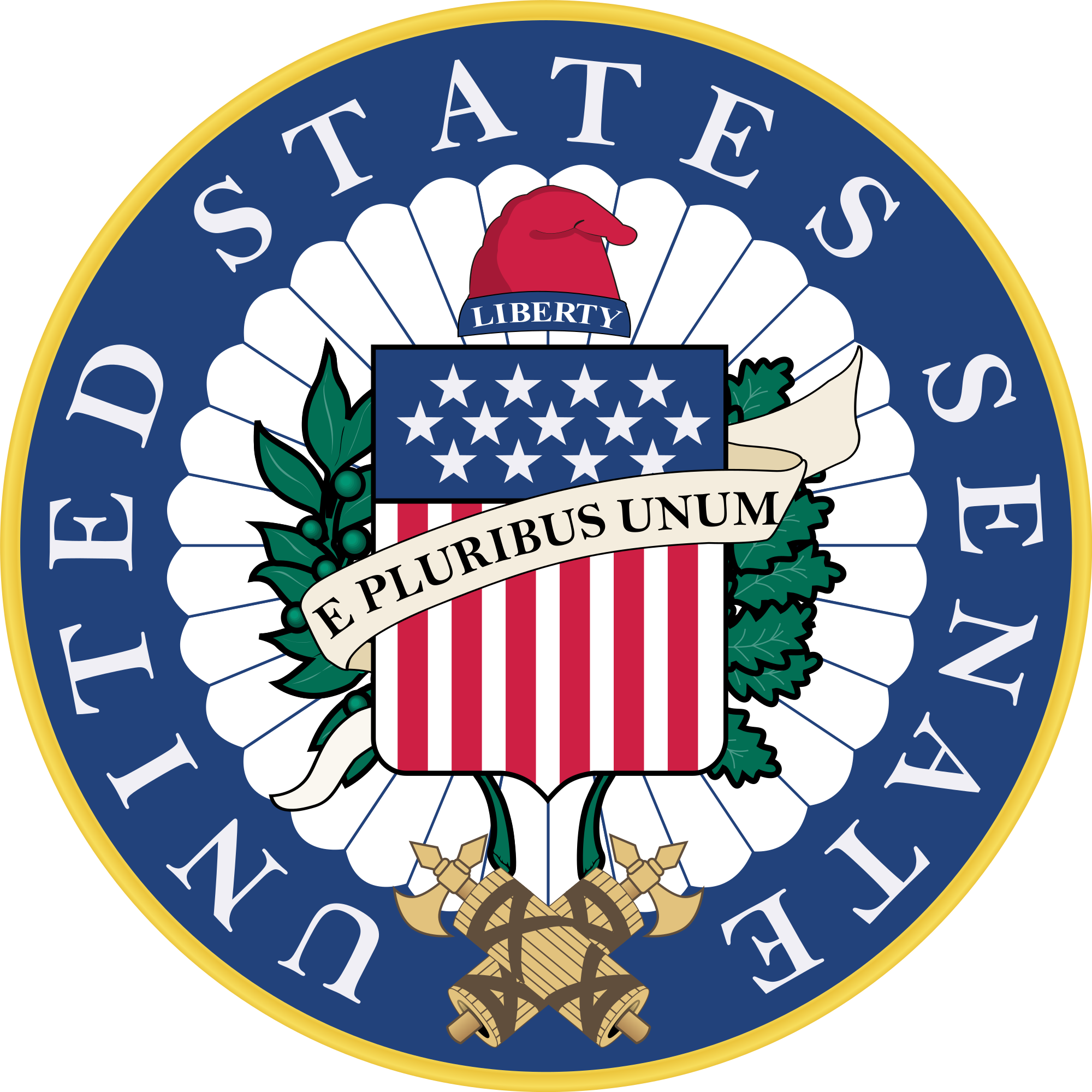 Bill goes from house to senate clipart clip black and white library United States Senate - Wikipedia clip black and white library