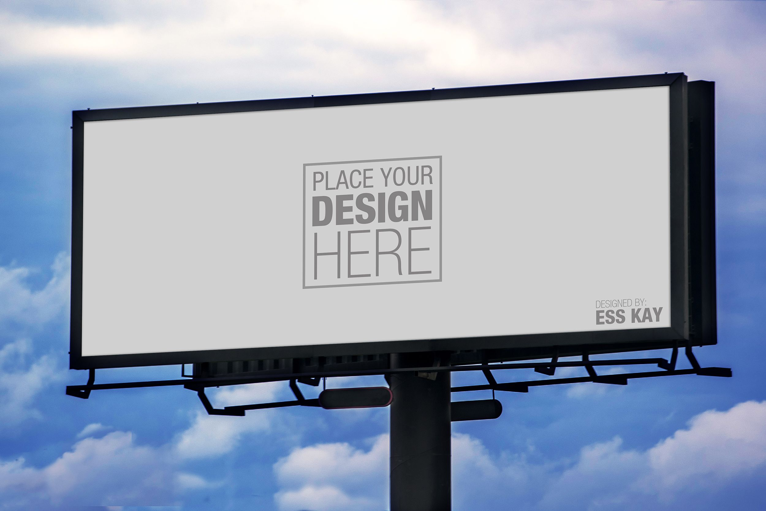 Billboard mockup clipart picture royalty free library 4 Free Outdoor Advertisement Hoarding-Billboard Mockup PSD Files ... picture royalty free library