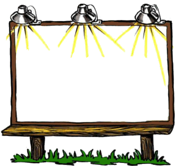 Billboard sign clipart image freeuse library Billboard sign clipart 4 » Clipart Portal image freeuse library