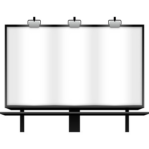Billboard sign clipart image freeuse library Free Billboards Cliparts, Download Free Clip Art, Free Clip Art on ... image freeuse library
