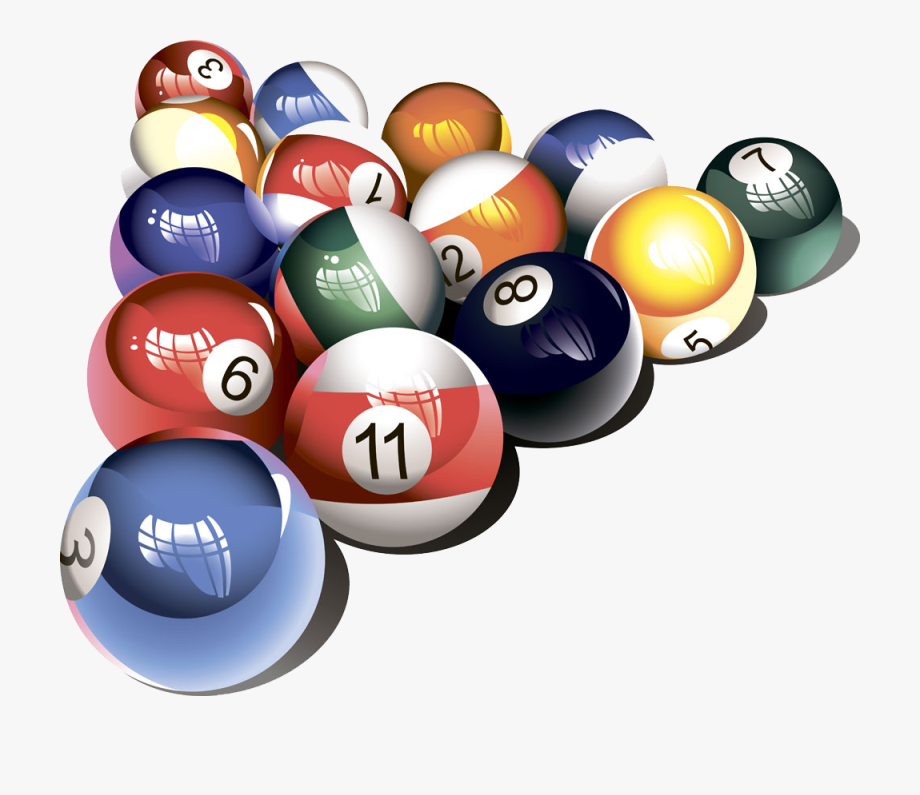 Clipart pool balls banner freeuse library Billiard Balls Image Free Clipart Hd - Transparent Pool Balls Png ... banner freeuse library