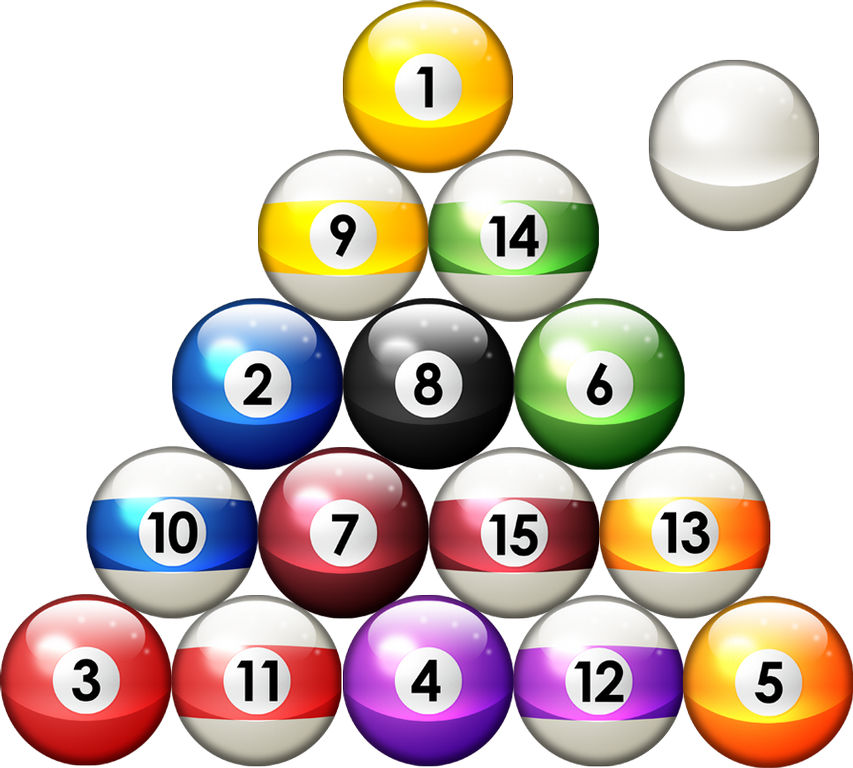 Billiard balls clipart banner download Free Pool Balls Pictures, Download Free Clip Art, Free Clip Art on ... banner download
