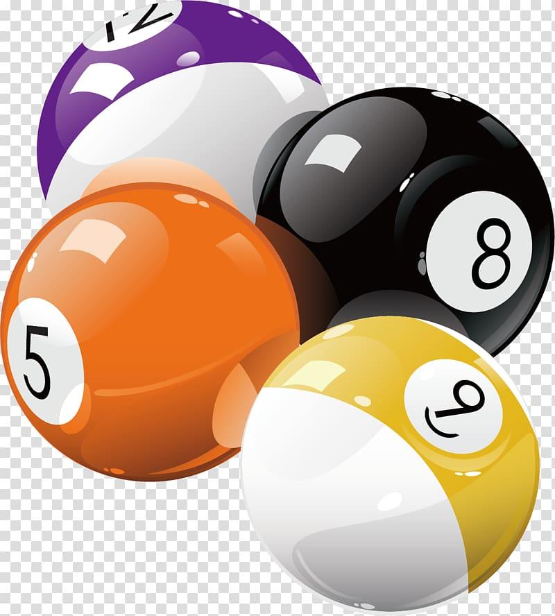 Billiard balls clipart svg freeuse stock Billiard balls illustration, Pool Billiard ball Billiards Eight-ball ... svg freeuse stock