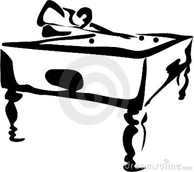Billiards clipart black and white clipart freeuse stock Cool pool black and white drawing | Pool and Billards in 2019 ... clipart freeuse stock