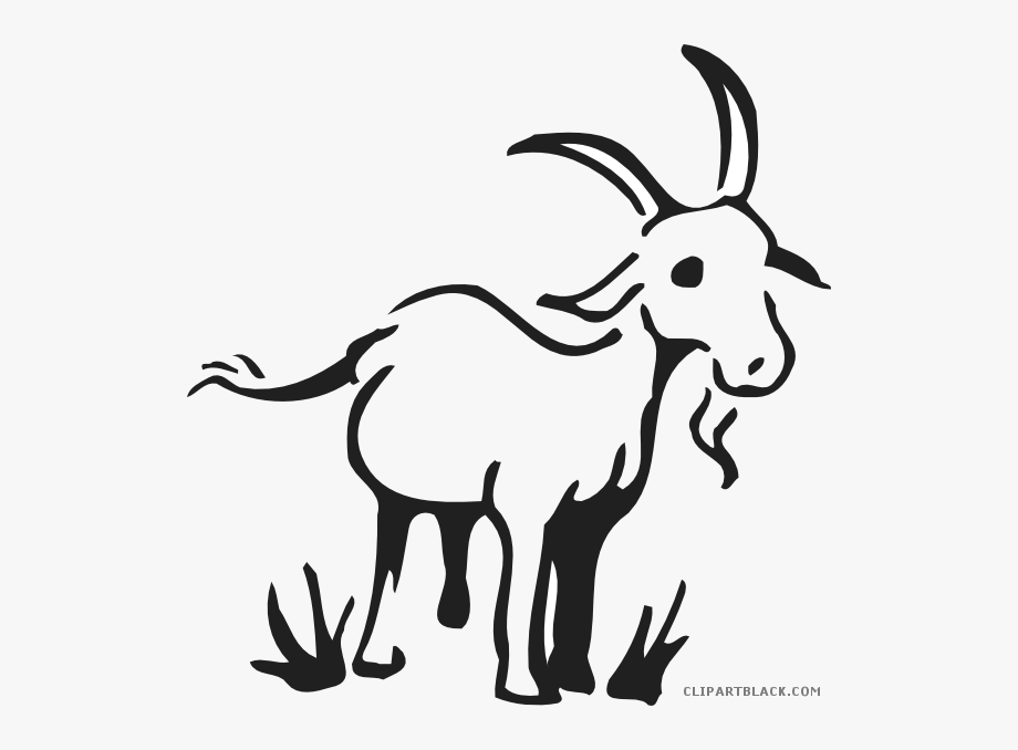 Billy goat clipart eating grass banner royalty free library Goat Clipart Yoga - Simple Goat Drawing #140534 - Free Cliparts on ... banner royalty free library