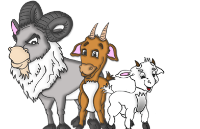 Billy goats gruff clipart images banner free download Download Free png three billy goats gruff clipa - DLPNG.com banner free download