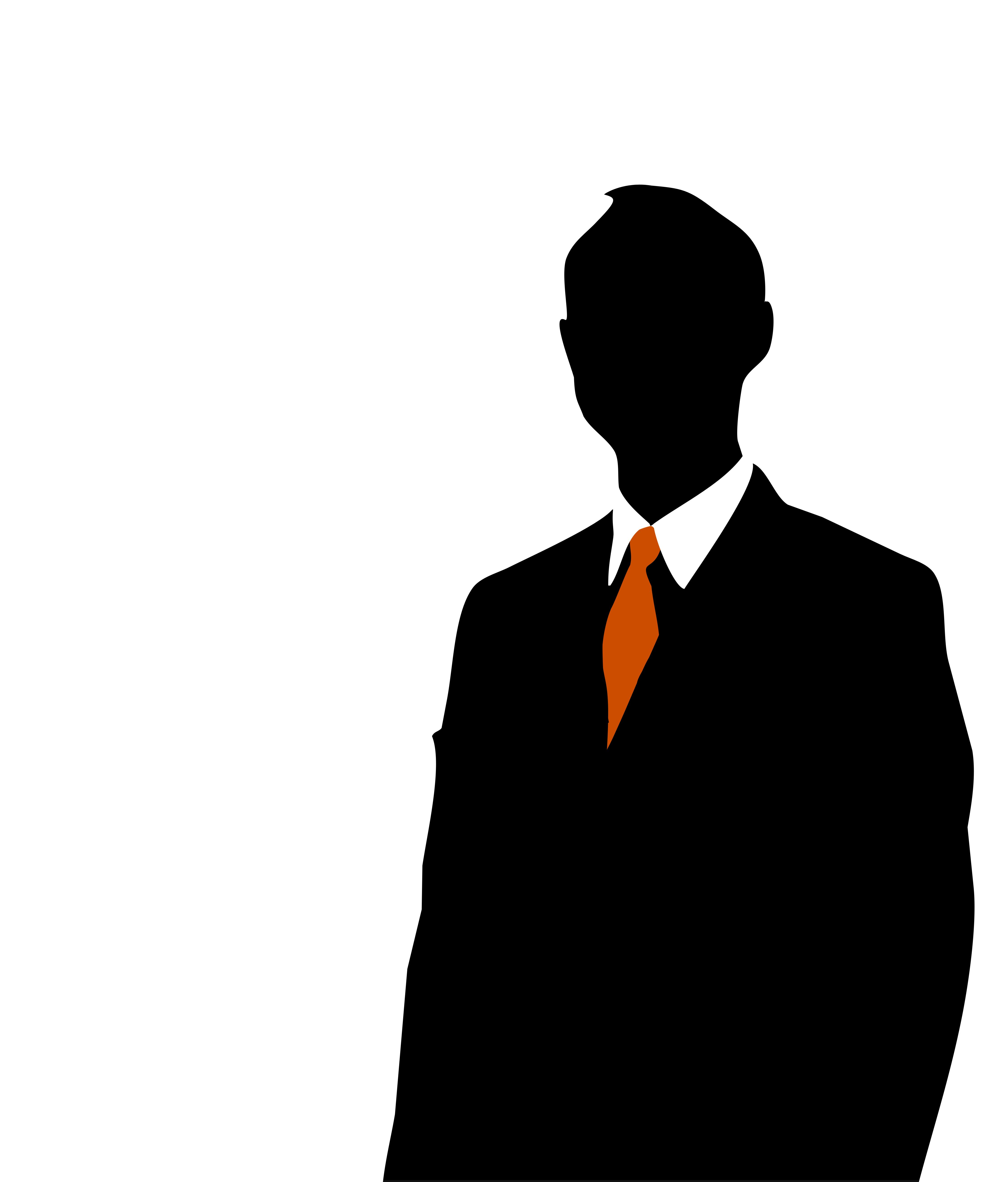 Collection of 14 free Businessman clipart silhouette bill clipart ... banner library library
