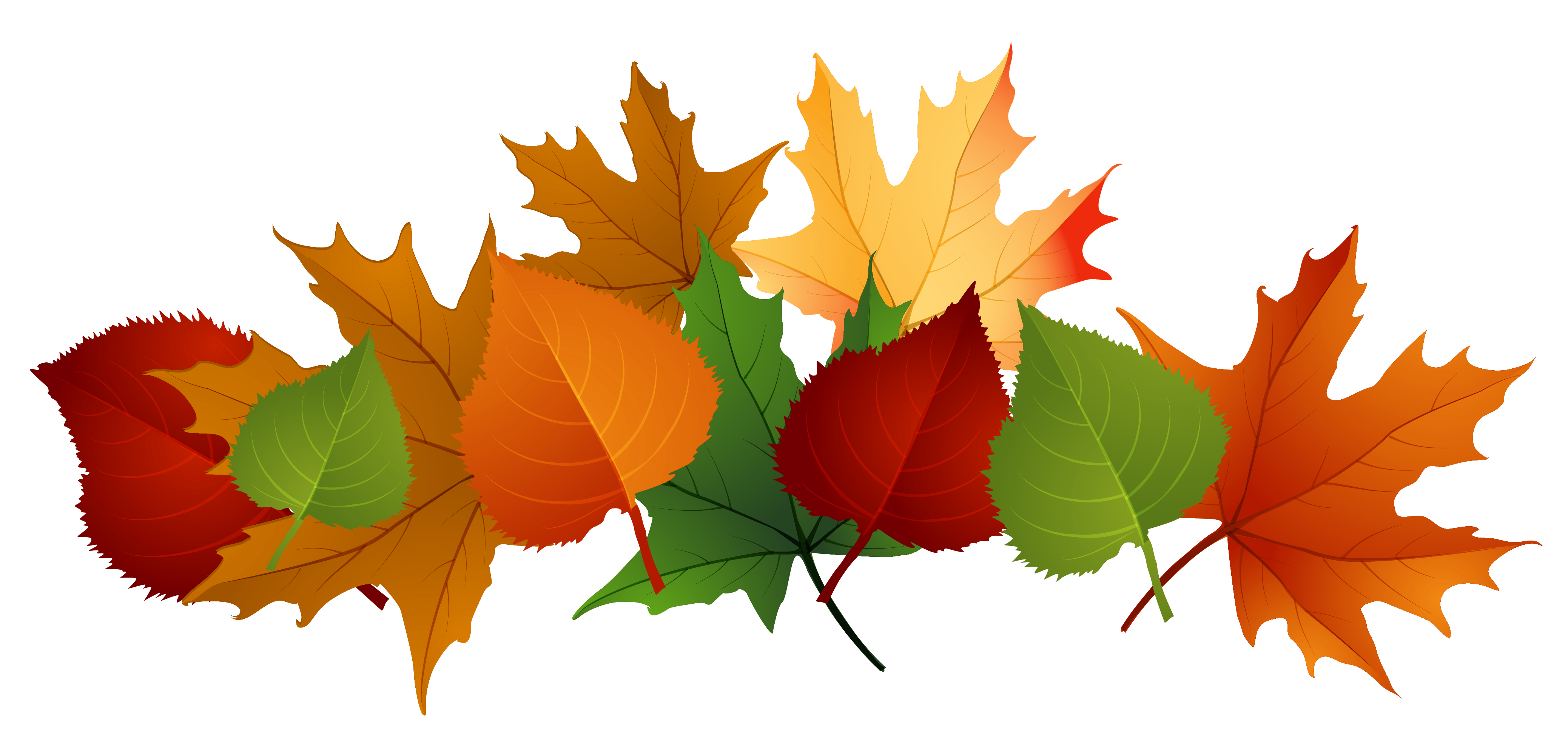 Free clipart autumn leaves with musical notes