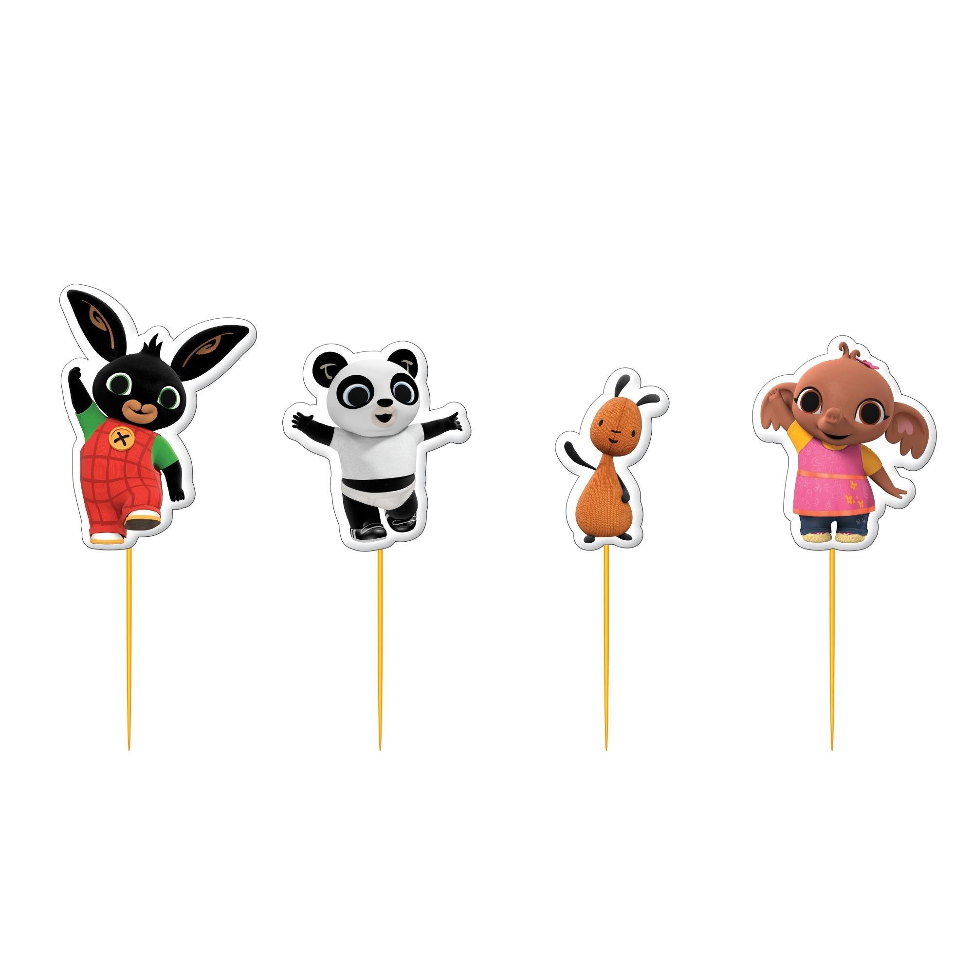 Bing clipart farm pens banner library library Bing the Rabbit Shaped Party Cake Candles & Picks banner library library