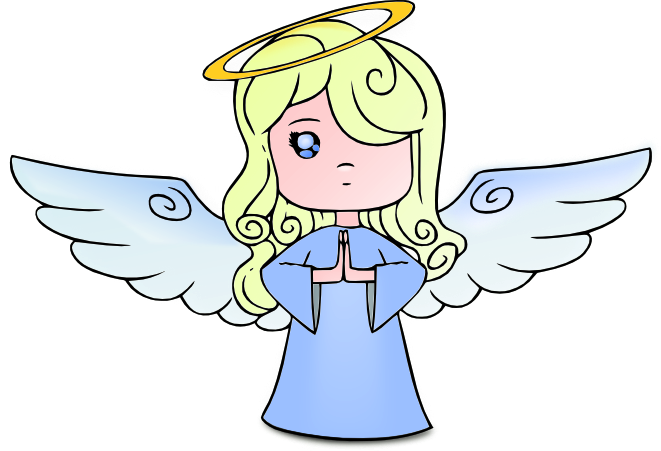 Bing clipart free cartoon angel banner free blonde angel | congratulations | Angel art, Angel clipart, Angel banner free