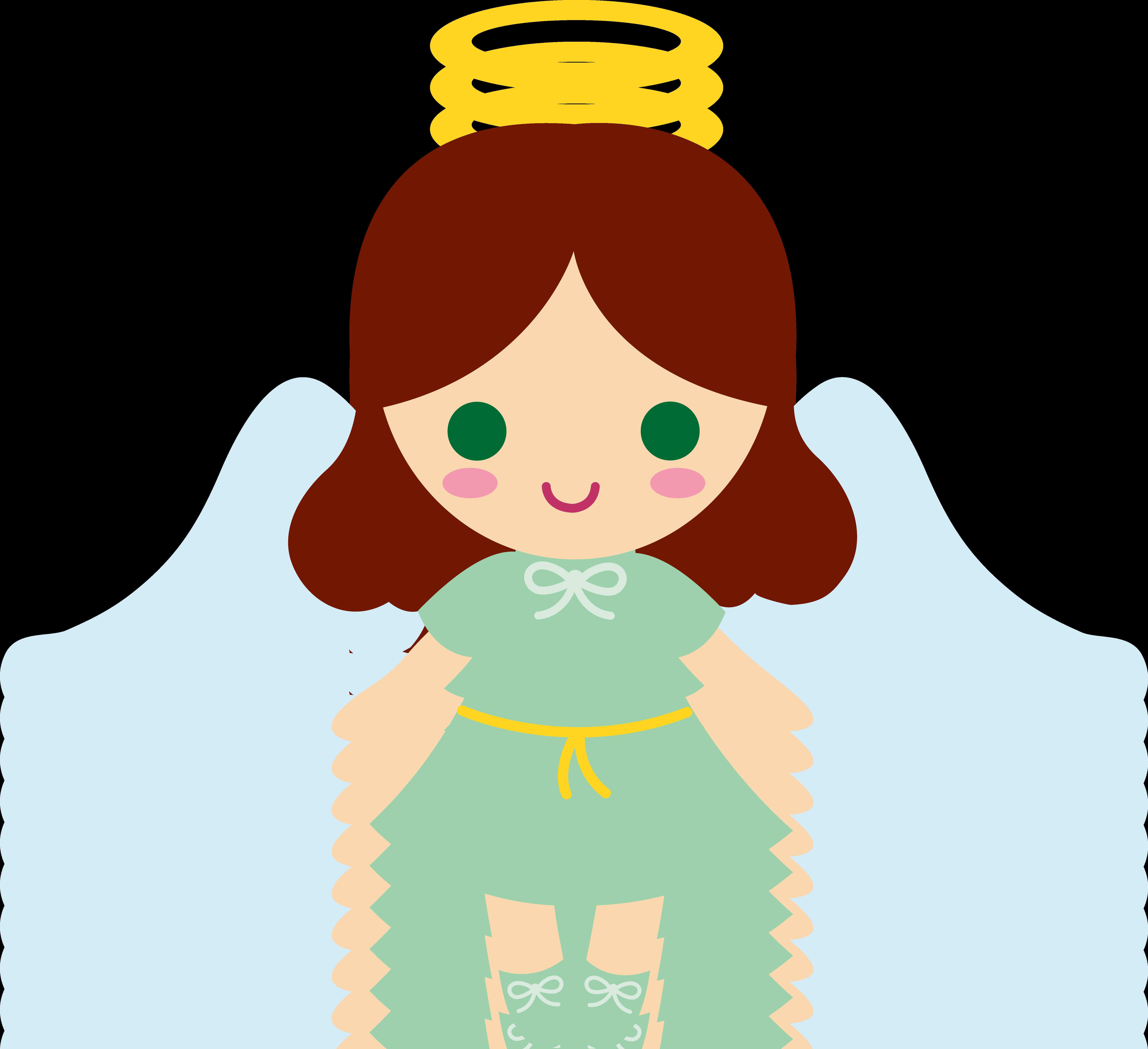 Bing clipart free cartoon angel jpg library Cartoon Angels Group with 47+ items jpg library
