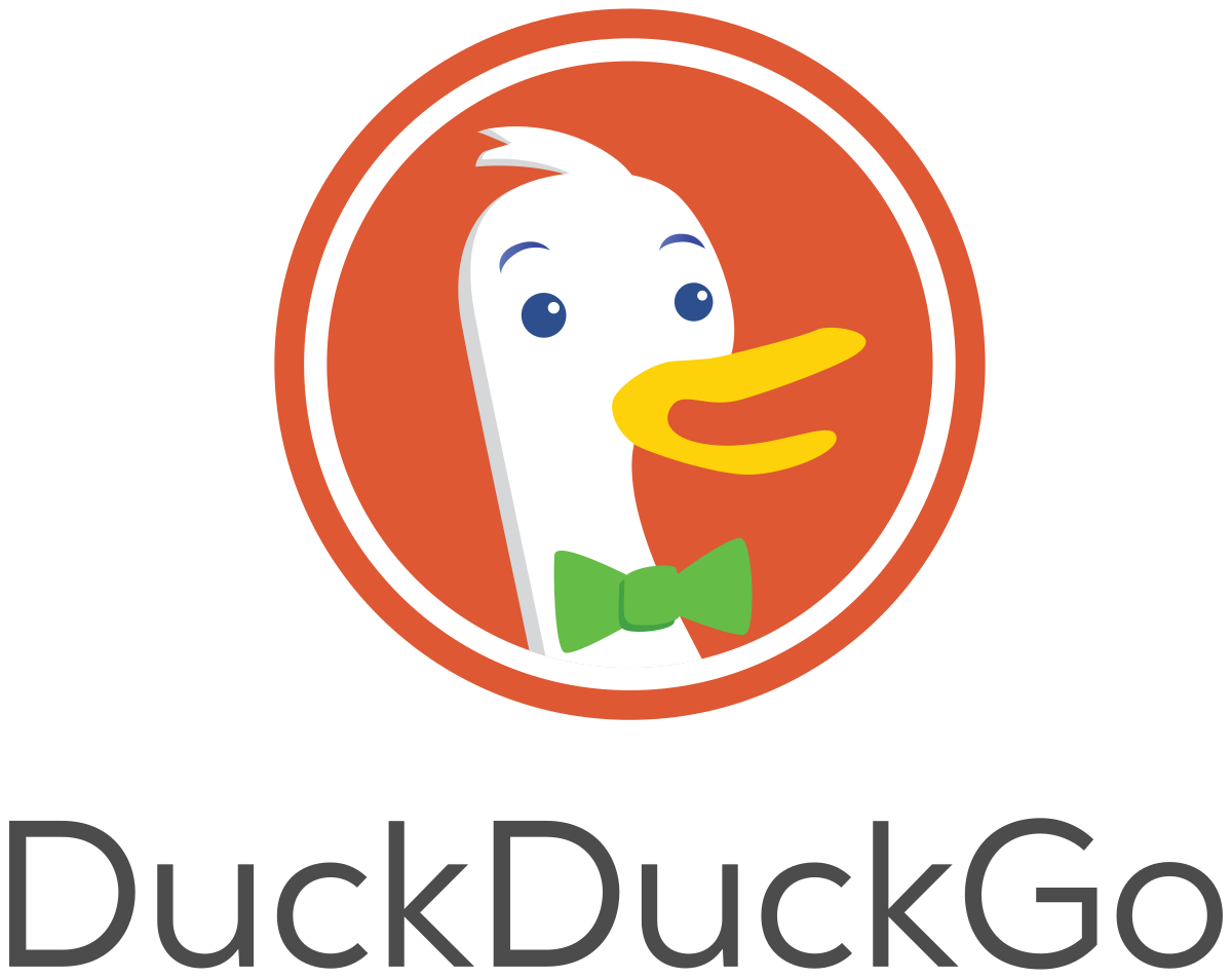 Bing clipart search history image black and white stock DuckDuckGo - Wikipedia image black and white stock